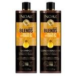 Kit Inoar Blends shampoo, 1L + condicionador, 1L