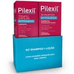 Kit Pilexil Antiqueda shampoo, 150mL + tônico, 120mL