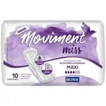 Absorvente Geriátrico Bigfral Moviment Miss maxi, 10 unidades