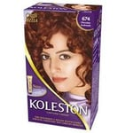 Tintura Wella Koleston nº 674 chocolate acobreado