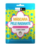Máscara Facial Clareadora Beauty 4 Fun Pele Radiante 1 unidade