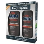 Kit Niely Gold For Men Shampoo 300mL + Condicionador 200mL