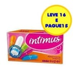Absorvente Interno Intimus super, leve 16 pague 15