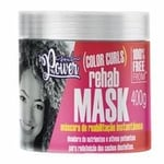 Máscara de Reabilitação Soul Power Color Curls Rehab Mask 400g