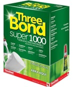 Cola Three Bond Super 1000 tradicional, 42 unidades com 2g cada