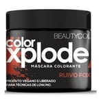 Máscara Matizadora Beauty Color Xplode ruivo foxy, 300g