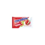 Chiclete Mentos Pure fruit, slab, 1 unidade com 8,5g