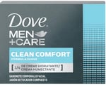 Sabonete Masculino Dove Men + Care clean comfort, barra, 1 unidade com 90g