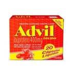 Advil 400mg com 20 cápsulas líquidas