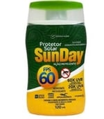 Protetor Solar com Repelente Nutriex Sunday FPS 60, 120mL