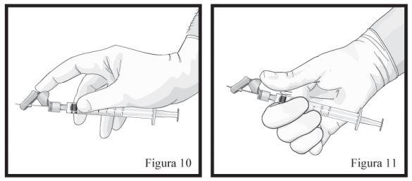 Ilustração sobre o uso do Eligard
