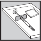 Ilustração para inicio de utilização do Humira