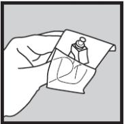 Ilutração de preparação da agulha do Humira