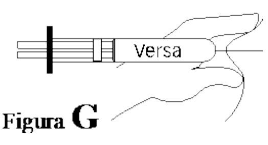 Ilustração para manter a prega cutânea até o final da injeção