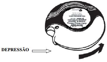 Imagem mostrando o aparelho fechado
