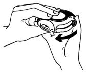 Imagem mostrando como fechar o dispositivo