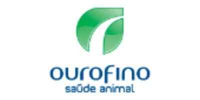 Logo ouro fino saude animal consulta remedios