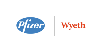 Logo wyeth pfizer