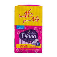 Absorvente Active Mais Proteção Suave Diana