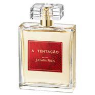 Perfume Feminino A Tentação Collector Juliana Paes