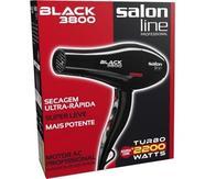 Secador de Cabelo Salon Line Black 3800