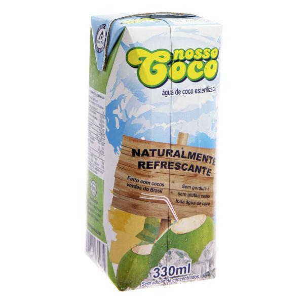 Água de Coco Natural Nosso Coco
