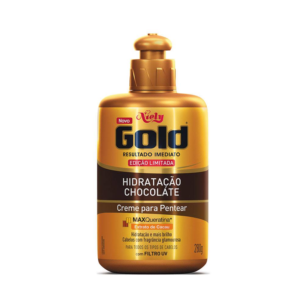 Creme para Pentear Niely Gold Hidratação Chocolate