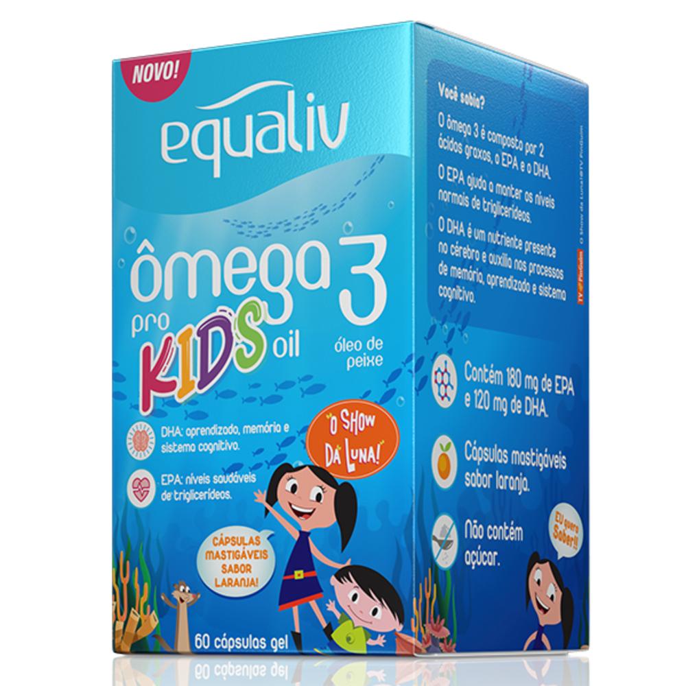 Ômega 3 Pro Kids Equaliv