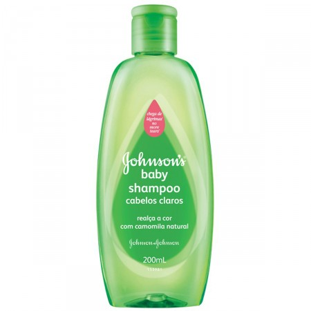 Shampoo Johnson's Baby Cabelos Claros