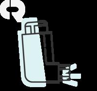 Relvar Ellipta 200mcg + 25mcg, caixa com 1 frasco com 30 doses de pó para inalação + bandeja
