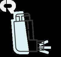 Anoro Ellipta 62,5mcg/dose + 25mcg/dose, caixa com 30 doses de pó inalatório de uso oral