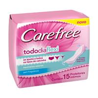 Protetor Diário Carefree TodoDia Flexi