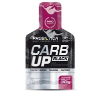 Carb Up Gel Black Probiótica