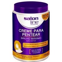 Creme para Pentear Brilho Máximo Salon Line