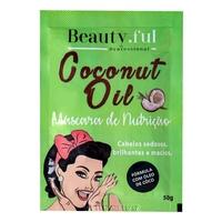 Máscara de Nutrição Beauty.Ful Coconut Oil