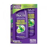 Kit Garnier Fructis Cachos Poderosos