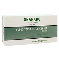 Supositório de Glicerina - Granado Pharmacias