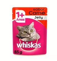 Ração para Gatos Whiskas Jelly Adulto