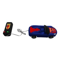 Brinquedo Carro de Controle Remoto com Fio Etitoys Marvel