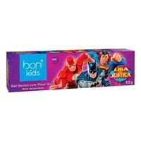 Gel Dental Boni Kids Liga da Justiça