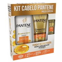 Kit Cabelo Pantene Força e Rconstrução