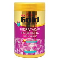 Máscara Hidratação Profunda Mega Brilho Niely Gold