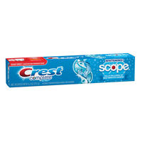 Creme Dental Crest Complete Whitening Plus Scope Cool Peppermint