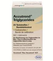 Tira Teste Accutrend Triglycerides