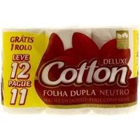 Papel Higiênico Cotton Folha Dupla Neutro