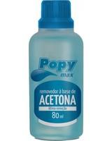Removedor de Esmalte à Base de Acetona Popy Max