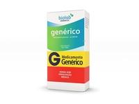 Cloridrato de Memantina Biolab Genéricos 10mg, caixa com 30 comprimidos revestidos