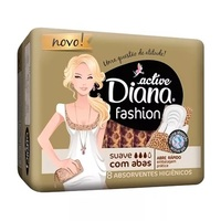 Absorvente Diana Active Fashion Suave