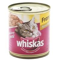 Ração para Gatos Whiskas Adulto Patê