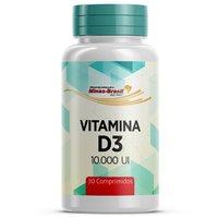 Vitamina D3 10.000UI Minas-Brasil